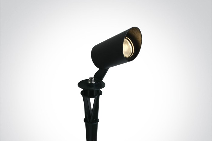 SPOT Aiavalgustid LED 3W, must, 3000K, IP67