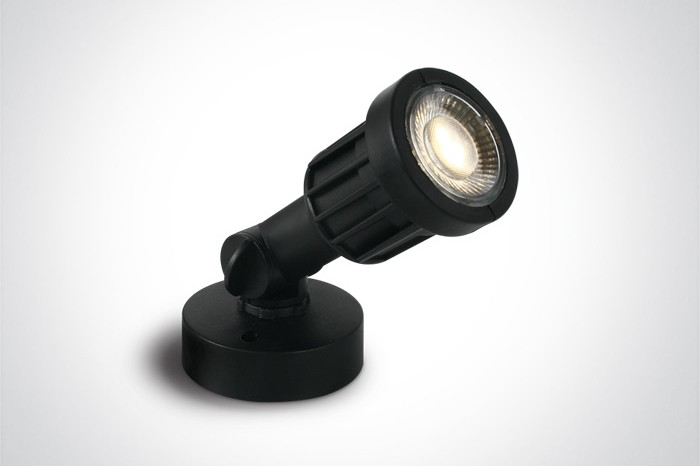 SPOT Aiavalgustid LED 5W, must, 3000/4000K, IP65