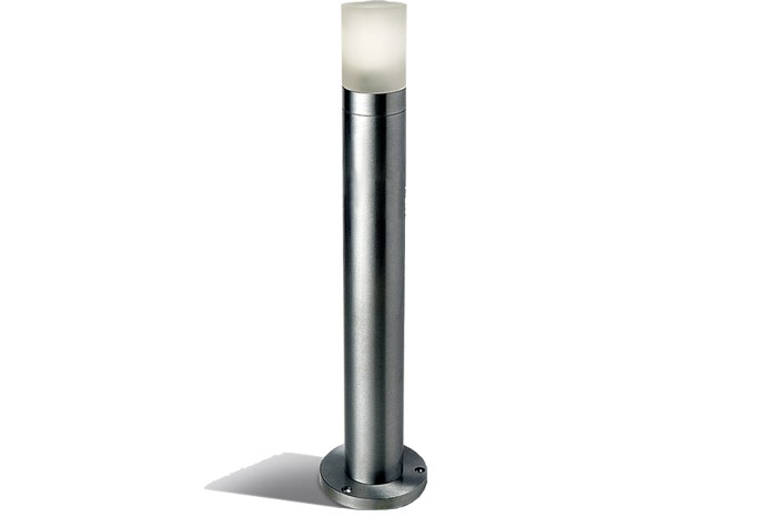 Post aiavalgusti LED 1W, alumiinium, 450mm, 3000/6000K