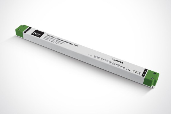 Toiteplokk LED ULTRA SLIM, 230VAC/24VDC, 60W, IP20